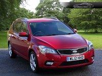 USED 2012 12 KIA CEED 1.6 CRDI 3 SW 5d AUTO 114 BHP