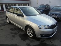 USED 2013 63 SKODA RAPID 1.2 SPACEBACK SE TSI 5d 104 BHP