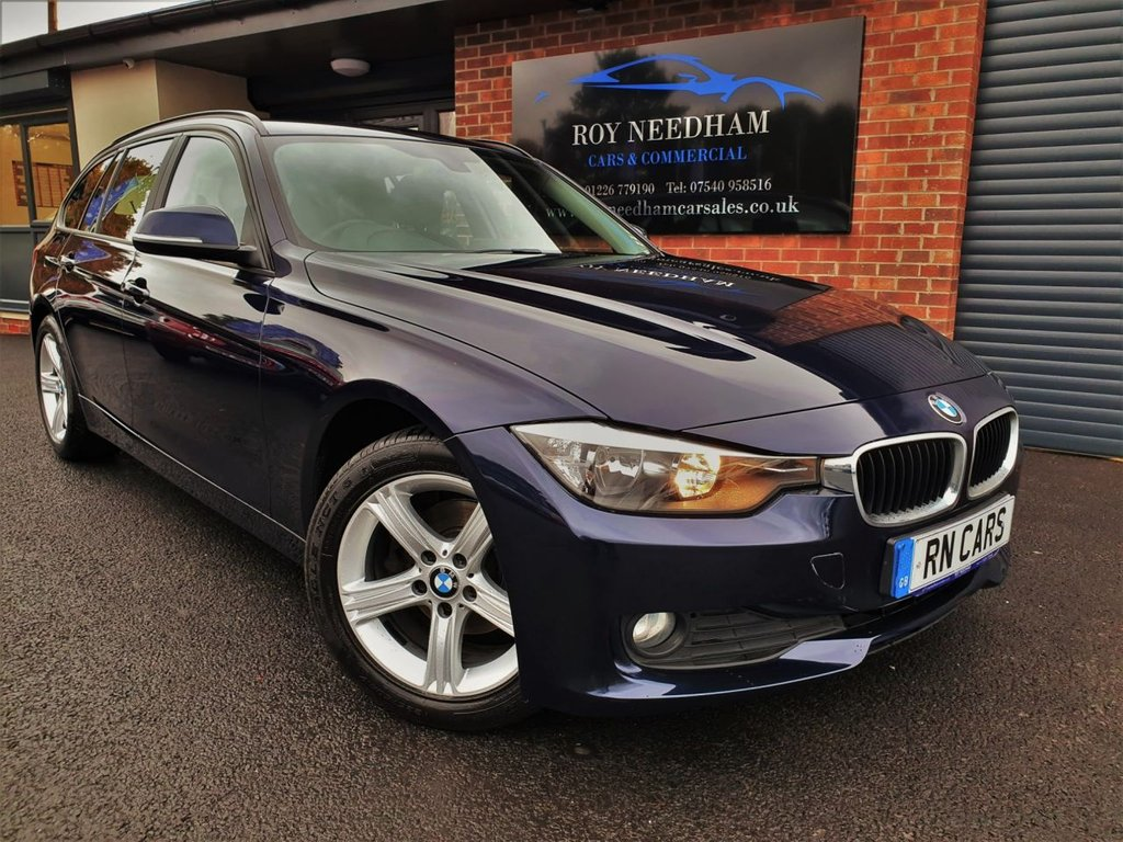 USED 2015 15 BMW 3 SERIES 2.0 316D SE TOURING 5DR 114 BHP *** SAT NAV - SENSORS - £30 ROAD TAX ***