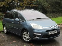 USED 2013 13 CITROEN C4 GRAND PICASSO 1.6 PLATINUM HDI 5d 110 BHP FULL PANORAMIC GLASS ROOF