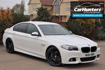2014 BMW 5 SERIES 2.0 520D M SPORT 4d AUTO 188 BHP £15495.00
