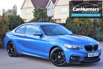 2016 BMW 2 SERIES 2.0 218D M SPORT 2d 148 BHP £15995.00