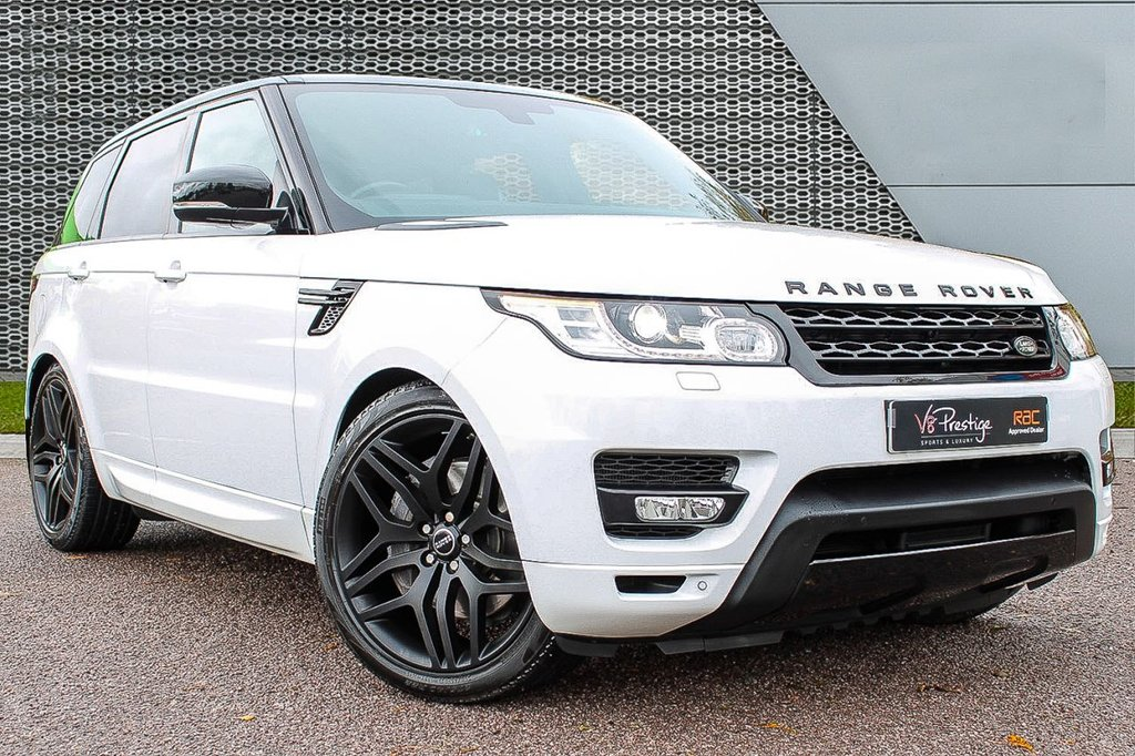 """USED 2015 15 LAND ROVER RANGE ROVER SPORT 3.0 SDV6 HSE DYNAMIC 5d AUTO 288 BHP **AUTOBIOGRAPHY PACK/22"""" ALLOYS**"""