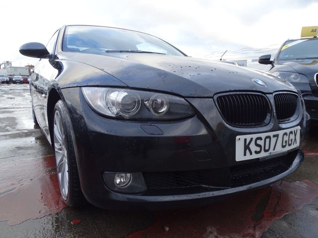 USED 2007 07 BMW 3 SERIES 2.0 320I SE 2d LOOKS GREAT WHITE INTERIOR