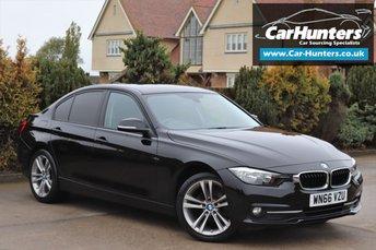 2016 BMW 3 SERIES 2.0 318D SPORT 4d 148 BHP £12195.00