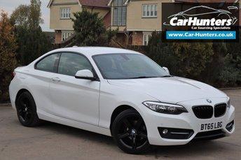 2015 BMW 2 SERIES 1.5 218I SPORT 2d 134 BHP £10995.00