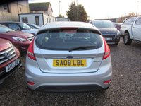 USED 2009 09 FORD FIESTA 1.2 STYLE 3d 81 BHP 12 months mot 4 new tyres