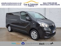 USED 2015 15 RENAULT TRAFIC 1.6 SL27 SPORT DCI S/R P/V 115 BHP Service History SATNAV Air Con Buy Now, Pay Later Finance!