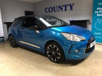 USED 2012 62 CITROEN DS3 1.6 THP DSPORT 3d 156 BHP * TWO OWNERS * FULL HISTORY *