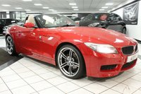 USED 2012 62 BMW Z4 2.0 Z4 SDRIVE20I M SPORT ROADSTER AUTO 181 BHP 19'S PRO NAV HEATED LEATHER!