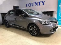 USED 2014 14 RENAULT CLIO 1.1 DYNAMIQUE MEDIANAV 5d 75 BHP * TWO OWNERS * FULL HISTORY *
