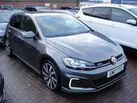 USED 2017 17 VOLKSWAGEN GOLF 1.4 GTE ADVANCE DSG 5d AUTO 150 BHP ANY PART EXCHANGE WELCOME, COUNTRY WIDE DELIVERY ARRANGED, HUGE SPEC