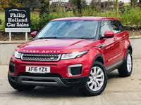 USED 2016 16 LAND ROVER RANGE ROVER EVOQUE 2.0 ED4 SE 5d 148 BHP Front / rear park sensors