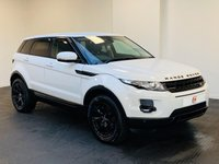 USED 2012 62 LAND ROVER RANGE ROVER EVOQUE 2.2 SD4 PURE TECH 5d 190 BHP LOW MILES + FULL HISTORY + SAT NAV + LEATHER + BLACK ALLOYS