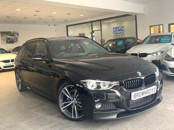 2017 BMW 3 SERIES 2.0 320D M SPORT TOURING 5d 188 BHP £18990.00