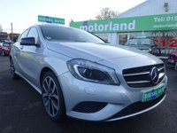 USED 2014 64 MERCEDES-BENZ A CLASS 1.5 A180 CDI BLUEEFFICIENCY SPORT 5d AUTO 109 BHP **TEST DRIVE TODAY**01543 877320**