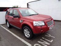 USED 2009 59 LAND ROVER FREELANDER 2.2 TD4 XS 5d AUTO 159 BHP 4X4 AWD 4WD Full service history 7 Stamps Satellite navigation bluetooth electric folding mirrors parking sensors front and rear cruise control