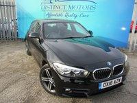 2016 BMW 1 SERIES 1.5 116D SPORT 5d 114 BHP £8749.00