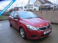 2011 KIA CEED 1.6 CRDI 1 5d 89 BHP £3495.00