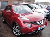 USED 2014 64 NISSAN JUKE 1.2 TEKNA DIG-T 5d 115 BHP ANY PART EXCHANGE WELCOME, COUNTRY WIDE DELIVERY ARRANGED, HUGE SPEC