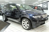 USED 2006 56 BMW X5 4.8 IS EXCLUSIVE AUTO 356 BHP PAN ROOF NAPPA LEATHER PRO NAV