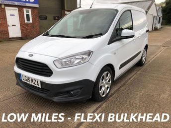 2015 FORD TRANSIT COURIER 1.5 TREND TDCI 75 BHP AIR CON ULTRA LOW MILES! £6250.00