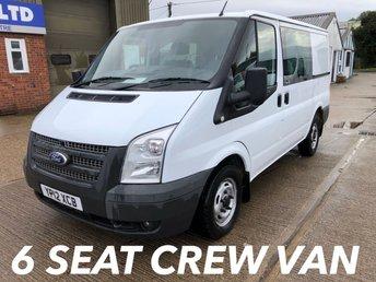 2012 FORD TRANSIT 2.2 280 SWB CREW VAN 100 BHP [EURO 5] £5000.00