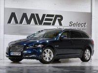 USED 2013 63 JAGUAR XF 2.2 D LUXURY SPORTBRAKE 5d AUTO 200 BHP