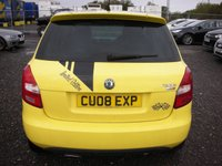 USED 2008 08 SKODA FABIA 1.9 SPORT TDI 5d 103 BHP 1 Previous owner - Cambelt changed
