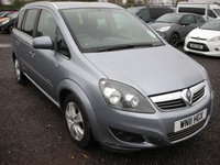 USED 2011 11 VAUXHALL ZAFIRA 1.7 ENERGY CDTI ECOFLEX 5d 108 BHP 1 Owner from new - FSH