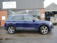 USED 2016 66 VOLKSWAGEN TIGUAN 2.0 SEL TDI BMT 4MOTION DSG 5d AUTO 148 BHP LED LIGHTS, FULL VW HISTORY, ONE FORMER KEEPER FROM NEW