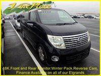 2005 NISSAN ELGRAND Highway Star 2.5 Auto,8 Seats, 59K,Power Door,Front and Rear Camera £7500.00