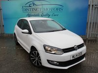 2014 VOLKSWAGEN POLO 1.2 MATCH EDITION 3d 59 BHP £6489.00