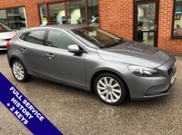 "USED 2015 15 VOLVO V40 2.0 D4 SE LUX NAV 5DOOR 187 BHP ONLY £20 Road Tax       :       DAB Radio       :       Satellite Navigation       :       USB Socket      Car Hotspot / WiFi   :   Cruise Control / Speed Limiter   :   Phone Bluetooth Connectivity      Climate Control / Air Conditioning   :   Heated Front Seats   :   Full Black Leather Upholstery      Rear Parking Sensors   :   17"" Alloy Wheels   :   2 Keys   :   Full Service History"