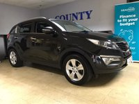 USED 2014 63 KIA SPORTAGE 1.7 CRDI 2 5d 114 BHP * ONE OWNER WITH HISTORY *