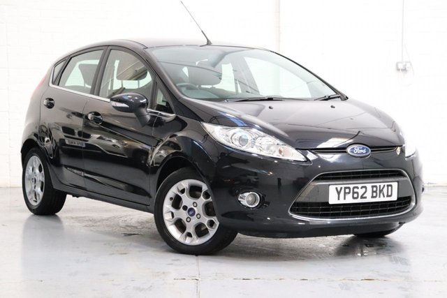 USED 2012 62 FORD FIESTA 1.4 ZETEC 16V 5d AUTO 96 BHP Low Mileage + Parking Aid