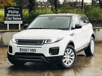 USED 2017 67 LAND ROVER RANGE ROVER EVOQUE 2.0 TD4 SE 5d 177 BHP 4WD Contrast roof, park sensors