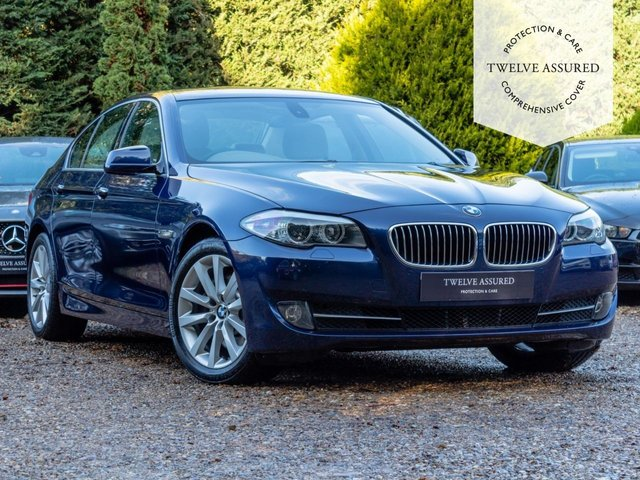 USED 2010 60 BMW 5 SERIES 3.0 525D SE 4d AUTO 202 BHP