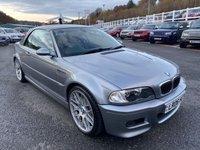 USED 2006 06 BMW M3 3.2 M3 SMG 2d 338 BHP Silver Grey, Back leather, hardtop, 19 inch, Harmon Kardon ++