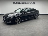 2013 AUDI A4 2.0 TDI BLACK EDITION 4d 148 BHP £12995.00