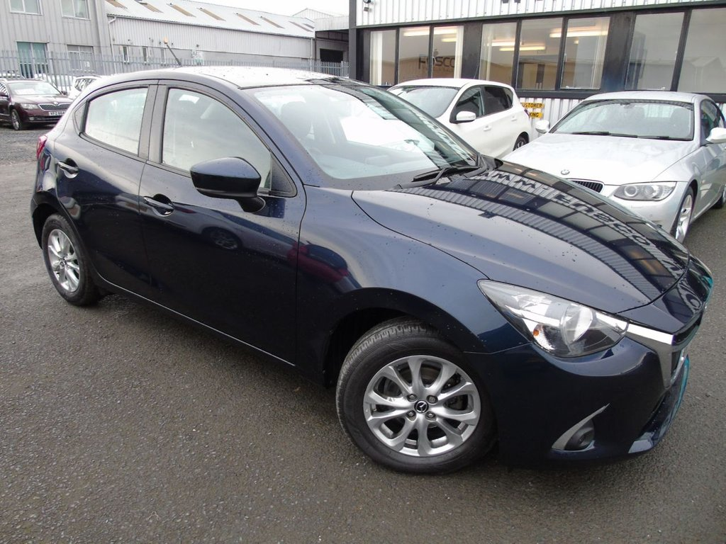 USED 2017 MAZDA 2 1.5 SE-L 5d 74 BHP £161 a month, T&Cs apply.
