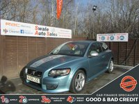 USED 2008 58 VOLVO C30 1.8 SPORT 3d 124 BHP GOOD AND BAD CREDIT SPECIALISTS! APPLY TODAY!