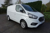 USED 2018 68 FORD TRANSIT CUSTOM 280 LIMITED L1 SWB 2.0 TDCI 130 BHP Direct From Leasing Company 14000 Miles & Ford Warranty Till September 2021, High Specification Limited Model In Superb Condition!