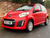 USED 2012 62 CITROEN C1 1.0 VTR 5d 67 BHP 2 OWNERS,, SERVICE HISTORY, £20 ROAD TAX, 1YR MOT EXCELLENT CONDITION,  AIR CON, RADIO CD, E/WINDOWS, R/LOCKING 2 KEYS, FREE WARRANTY, FINANCE AVAILABLE, HPI CLEAR, PART EXCHANGE WELCOME,