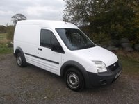 2012 FORD TRANSIT CONNECT 1.8 T230  89 BHPLong wheel base, High Roof Panel van £2750.00