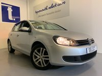 2011 VOLKSWAGEN GOLF 1.4L TWIST 5d 79 BHP £4999.00