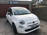 USED 2017 67 FIAT 500 1.2 POP 3d 69 BHP CHOICE OF 2 + CHEAP CAR FOR AGE + FIAT WARRANTY UNTIL DEC 2020 + FSH