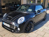 USED 2016 66 MINI CONVERTIBLE 2.0 COOPER S [CHILI PK / MEDIA XL]  2d AUTO 189 BHP