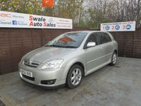 USED 2005 55 TOYOTA COROLLA 1.4 T3 COLOUR COLLECTION VVT-I 5d 92 BHP FINANCE AVAILABLE FROM £25 PER WEEK OVER TWO YEARS - SEE FINANCE LINK FOR DETAILS