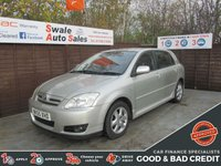 USED 2005 55 TOYOTA COROLLA 1.4 T3 COLOUR COLLECTION VVT-I 5d 92 BHP FINANCE AVAILABLE FROM £23 PER WEEK OVER TWO YEARS - SEE FINANCE LINK FOR DETAILS